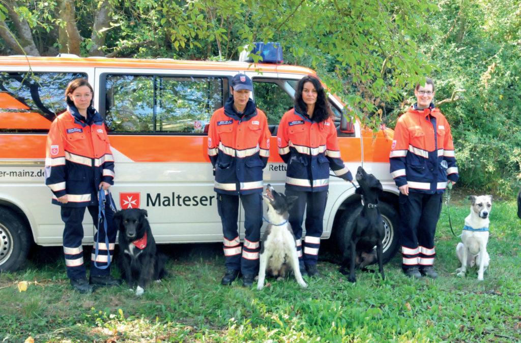 Rettungshundestaffel Mainz - Ein Artikel aus dem Hundereporter Magazin Ausgabe 4